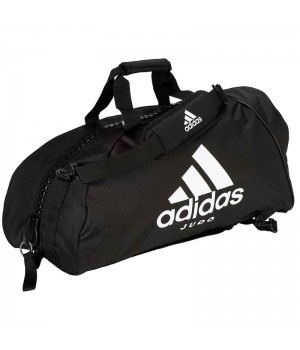 "Сумка-рюкзак Adidas 2in1 Bag ""Judo"" Nylon, adiACC052 Чорна"