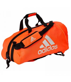 "Сумка-рюкзак Adidas 2in1 Bag ""Martial arts"" Nylon, adiACC052 Червона з білим"