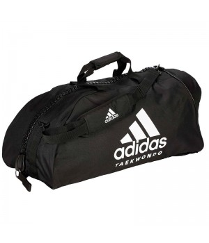 "Сумка-рюкзак Adidas 2in1 Bag ""Taekwondo"" Nylon, adiACC052 Чорна"