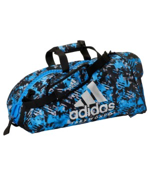 "Сумка-рюкзак Adidas 2in1 Bag ""Taekwondo"" Nylon, adiACC052 Синя"